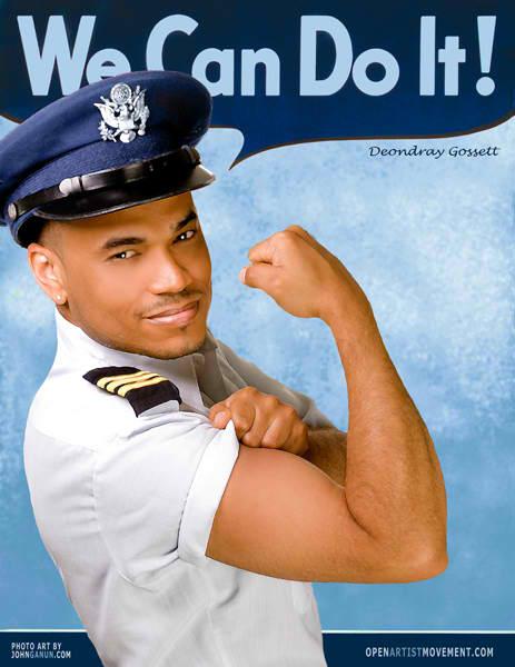 Gay black military men