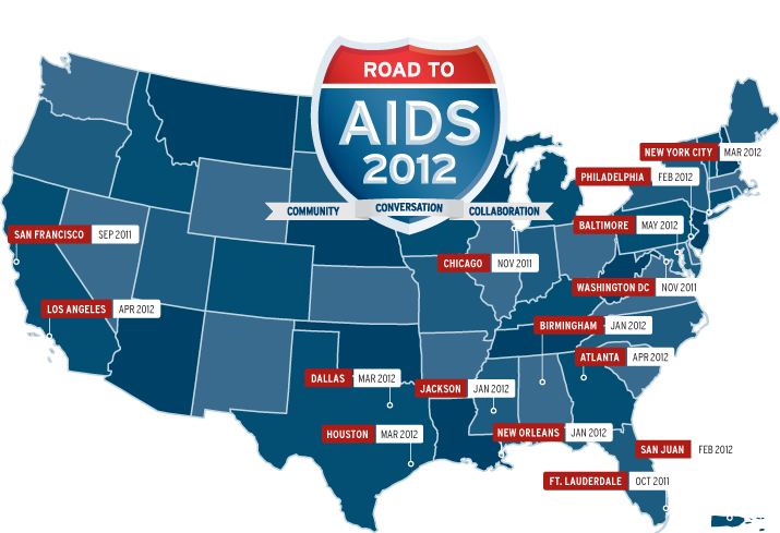 Jennie Anderson Blog Dot AIDS Dot Gov Road To AIDS Town - Aids map us